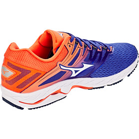 Mizuno Wave Shadow 2 Shoes Herren reflex blue/white/nasturtium